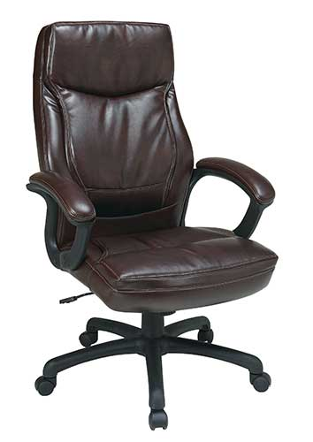 Executive High Back Bonded Leather Chair, Barrys Office Furniture, Toronto GTA