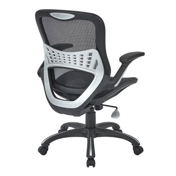Mesh Seat and Back Manager's Chair, back view
