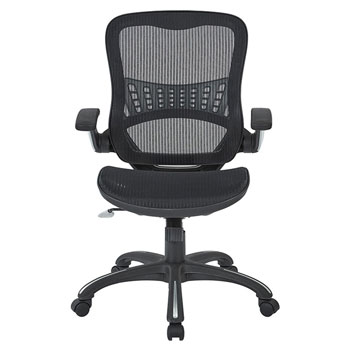 Mesh Seat and Back Manager's Chair, front view
