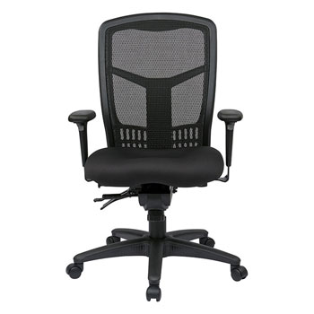 ProGrid® High Back Managers Chair, front view