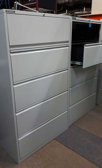 Used 5 Drawer Lateral U-10, Office Furniture, North York, Toronto GTA