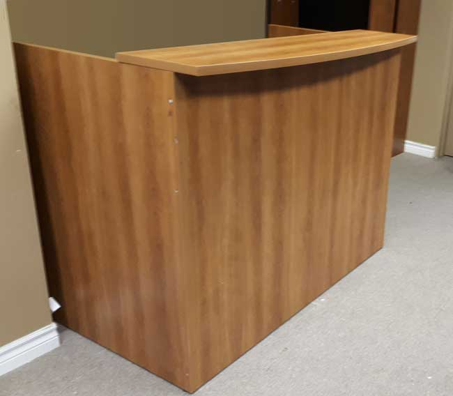 Used Reception Desk, Barrys Office Furniture, North York