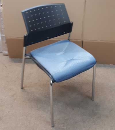 Used Global Sonic Stacking Chair, Barrys Office Furniture North York, Toronto GTA