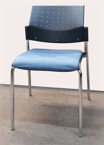 Used Global Sonic Stacking Chair, Barrys Office Furniture, North York, Toronto GTA