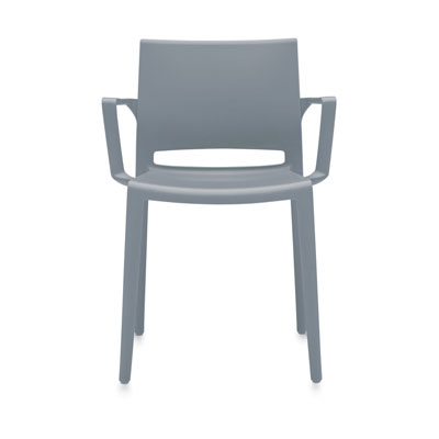 Bakhita Armchair, Polymer Seat & Back 6750, Global Stacking Chair.