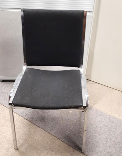 Galaxy Black, used chair