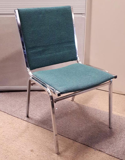 Used chair Galaxy green
