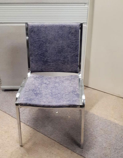 Used chair Galaxy gray