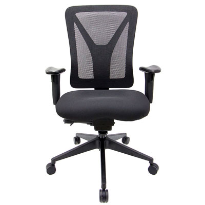 Match High-Back Office Chair, front, Icon Office, North York, Toronto GTA