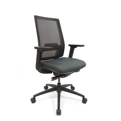 Q2 Mesh Black Office Seating, Icon Chair North York, Toronto GTA