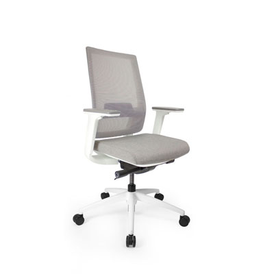 Q2 Mesh White Office Seating, Icon Chair North York, Toronto GTA