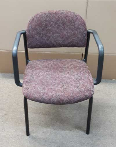 Used Stackable Chair Cushioned, Office Furniture, North York, Toronto GTA
