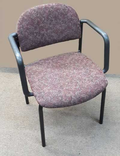 Used Stackable Chair Cushioned, Barrys Office Furniture, North York, Toronto GTA