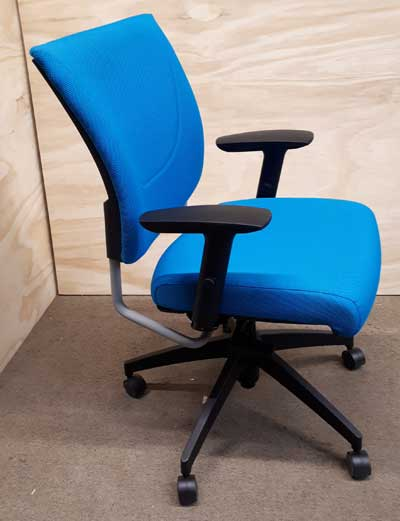 Used Graphic Upholstered Posture Back Chair, Office Furniture North York