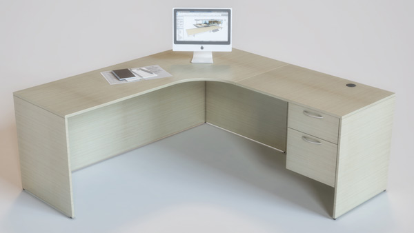 Salesman Desk with out Keyboard Tray, Toronto GTA