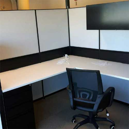 Used L Shaped Workstation, office furniture, Toronto GTA