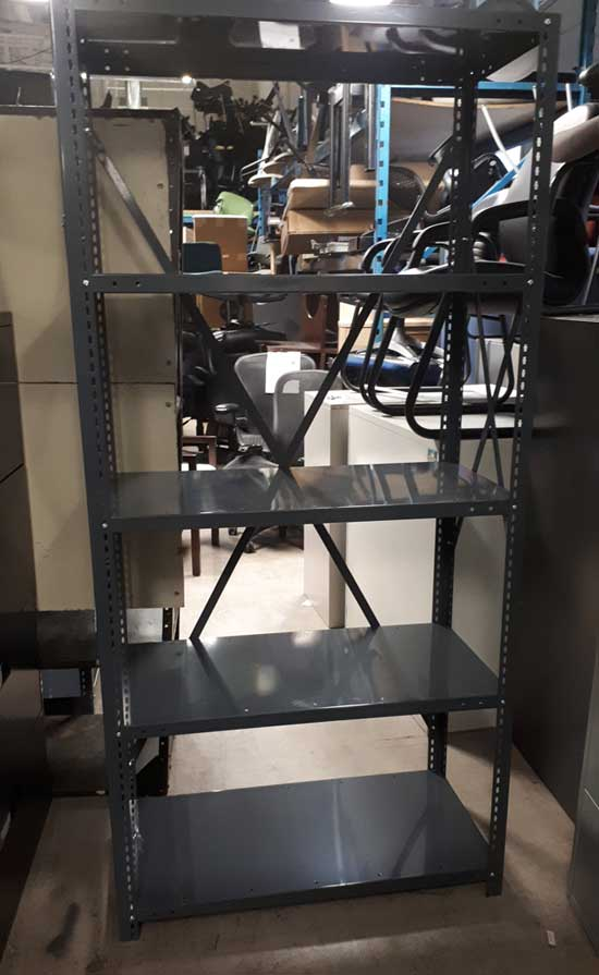 Used Metal Shelving Commercial Grade, Ised Furniture Toronto GTA
