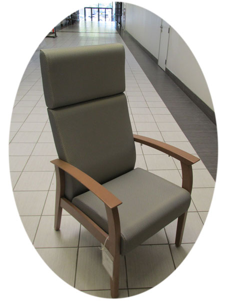 Patient High Flex Split Back Armchair, Used health care chairs, Toronto GTA