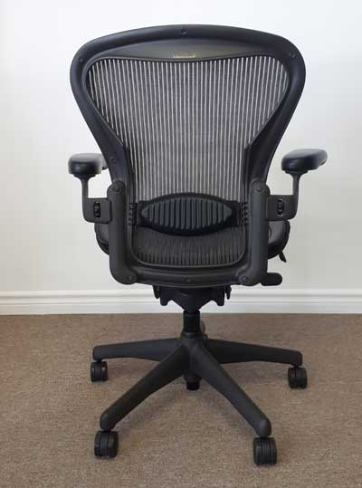 Remanufactured Herman Miller Aeron Chair, back, North York, Toronto