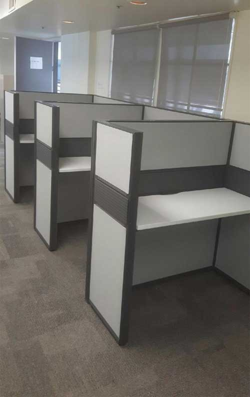 Used Workstation Cluster, Office Furniture, North York, Toronto