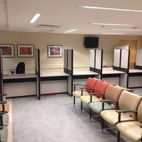 Used Customer Service Centre Workstation, Hospital Cubicles, Toronto GTA
