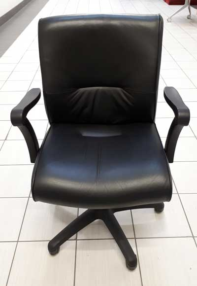 Used Krug Leather Chairs, Office Furniture Toronto GTA