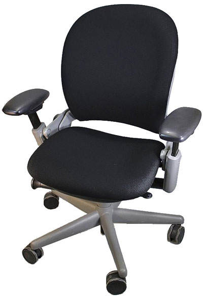Fully Remanufactured Steelcase V1. Black Fabric
