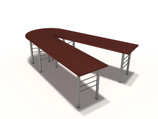 IOF V-Shape Table, Modular Tables, Office Furniture Toronto