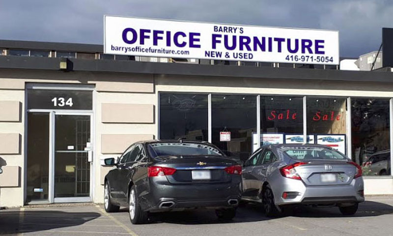 Barry's Office Furniture is located at 134 Cartwright Ave, North York, ON M6A 1V2. Serving Toronto for 35 years.