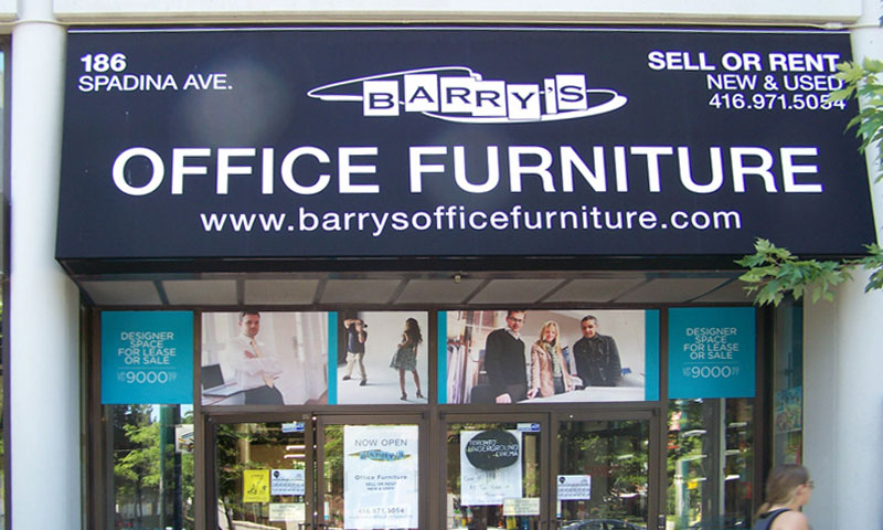 Barry's Office Furniture is located at 186 Spadina Ave, Toronto, ON, M5T 3A4. Serving Toronto for 35 years.