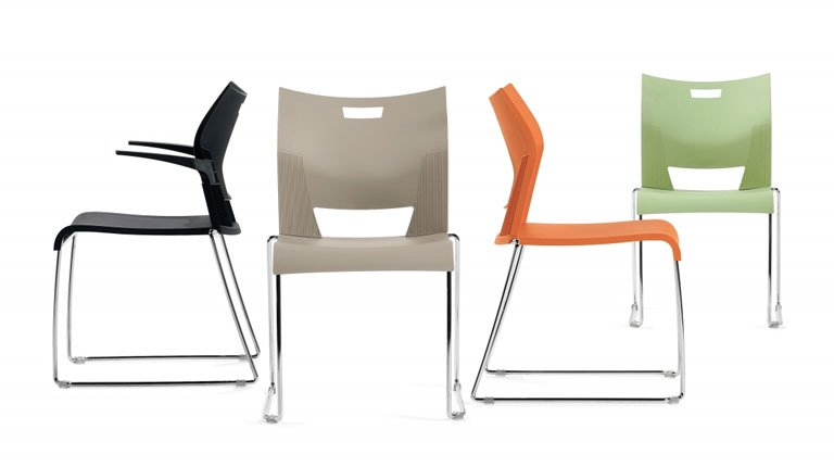 "Sonic Chairs Unique ""high density"" seating that is both comfortable and durable."