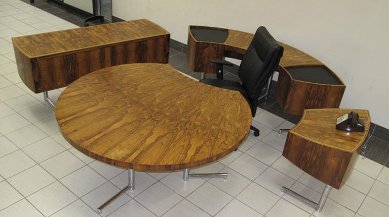 Our vintage office furniture is used in the movie industry for movie the sets all around the Greater Toronto Area.