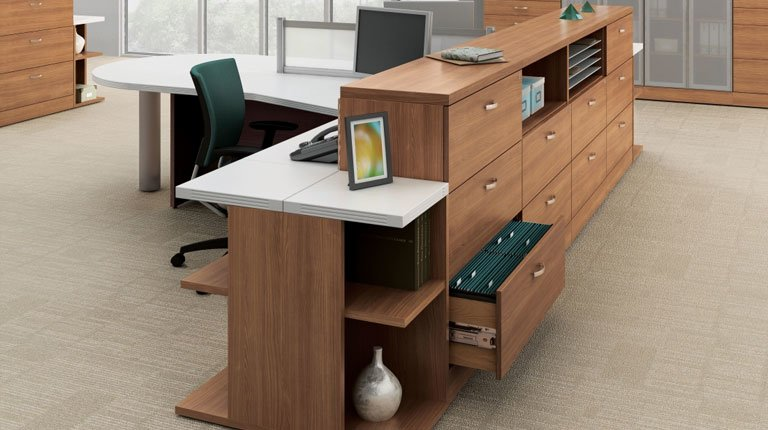 Global Reception Desk Office Furniture North York Toronto