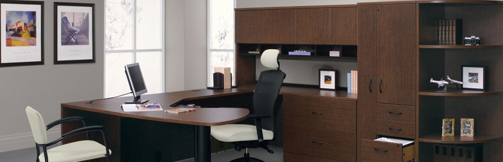 Executive U Shaped Desk New Office Furniture In Downtown Toronto