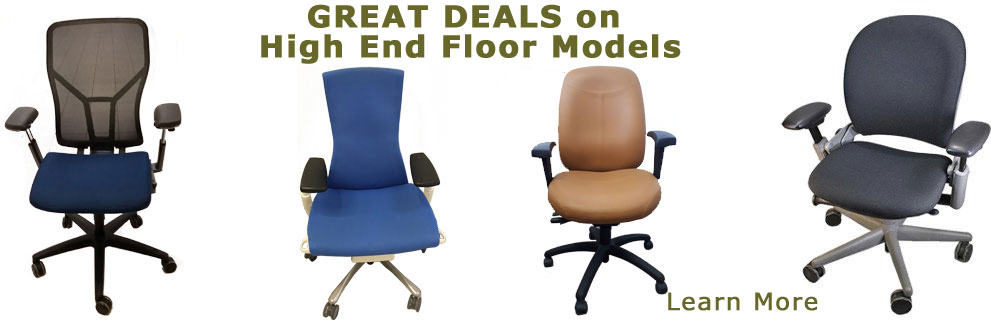 Great deals on Used, High End, Ergonomic Chairs