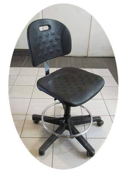 Industrial Ergonomic Arms : Industrial esd task stool