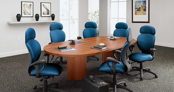 Adaptabilities - Boardroom Table - Global, Laminate Tables