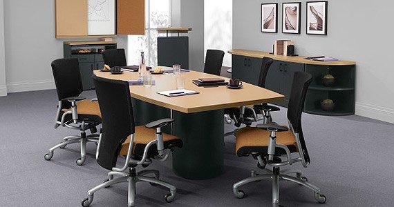 Global Correlation Boardroom Table Office Furniture