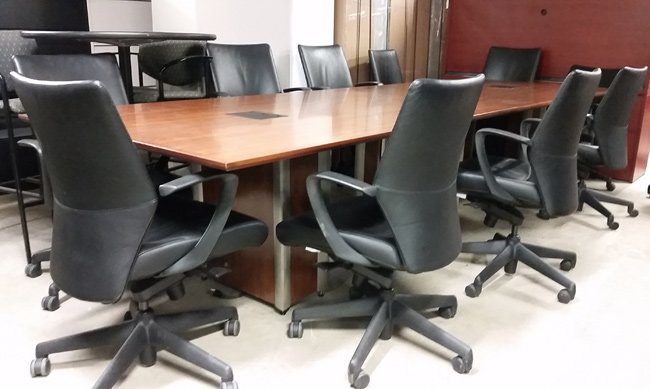 Used Herman Miller Conference Table With Chairs Toronto Gta