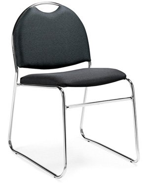archer nesting chair armless guest and stacking chairs office