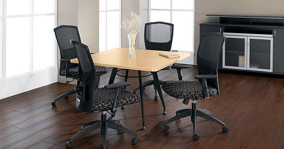 Square Office Furniture ~ Square alba meeting tables promotions desks and