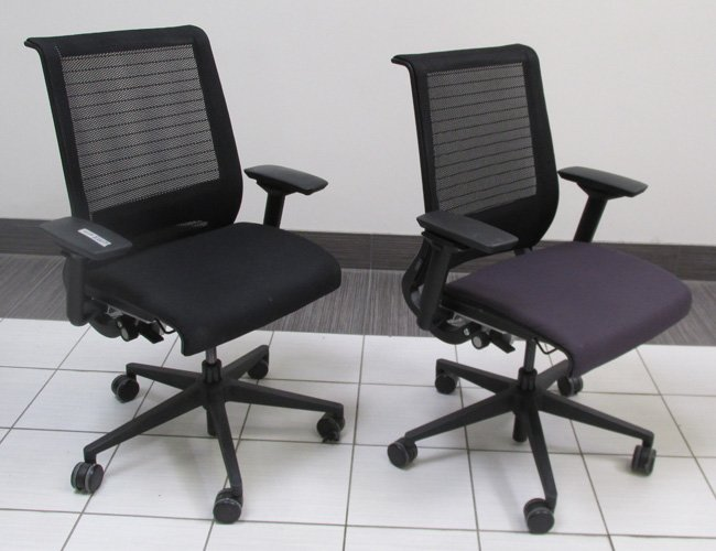 is steelcase better leap vs think chair x which