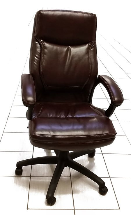 Burgandy Leather Chair