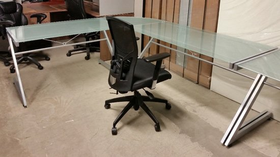 Used Glass Workstations