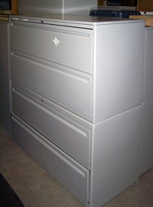 Used 2 Drawer Lateral U-1