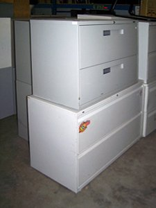 Used 2 Drawer Lateral U-2