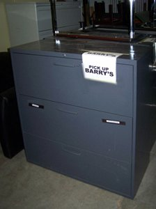 Used 3 Drawer Lateral U-3