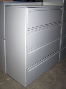 Used 4 Drawer Lateral U-4