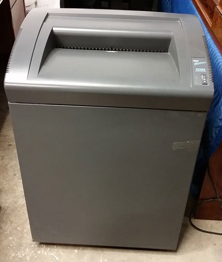 Used GBC Shredder 5220S