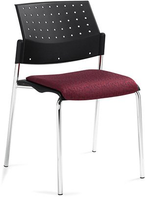 Sonic™ Armless Stacking Chair, Polypropylene Seat & Back, Global, North York, Toronto GTA